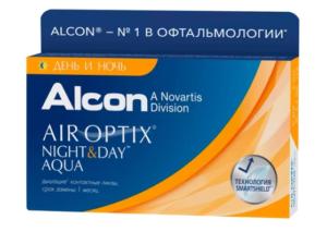 Air Optix (Alcon) Night & Day Aqua (3 линзы)
