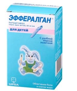 Эффералган сироп 30 мг/мл фл. 90 мл