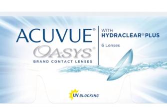 Контактные линзы Acuvue Oasys