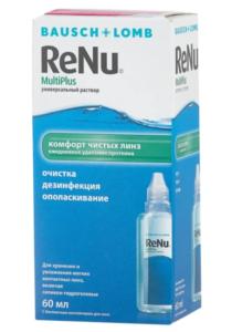 Раствор для линз Bausch & Lomb Renu MultiPlus