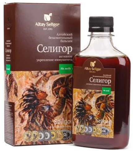 Altay Seligor Бальзам на меду «Селигор» активное укрепление иммунитета